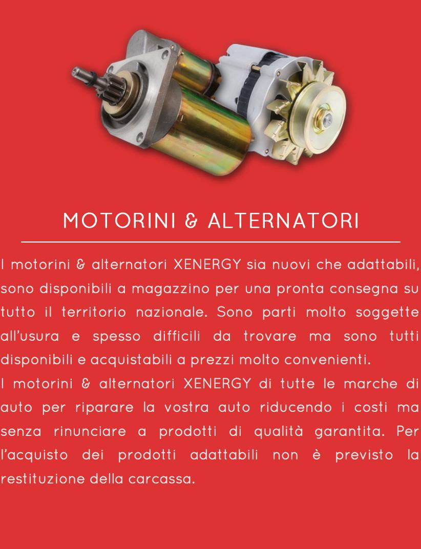 Motorini&Alternatori